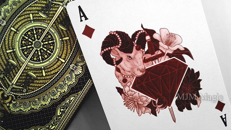 The Count of Monte Cristo Playing Cards - Click Image to Close