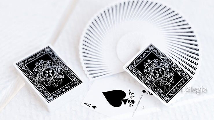 Black Roses Playing Cards - Click Image to Close
