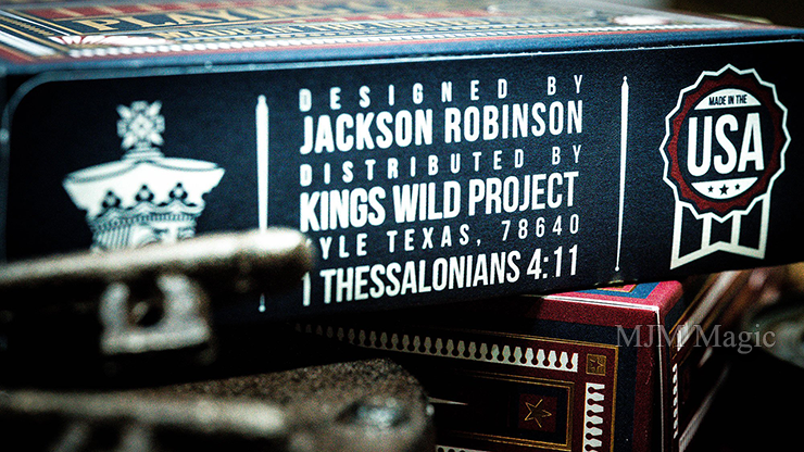 Kings Wild Americanas JUMBO Tuck Case Collectors Set Edition by Jackson Robinson - Click Image to Close