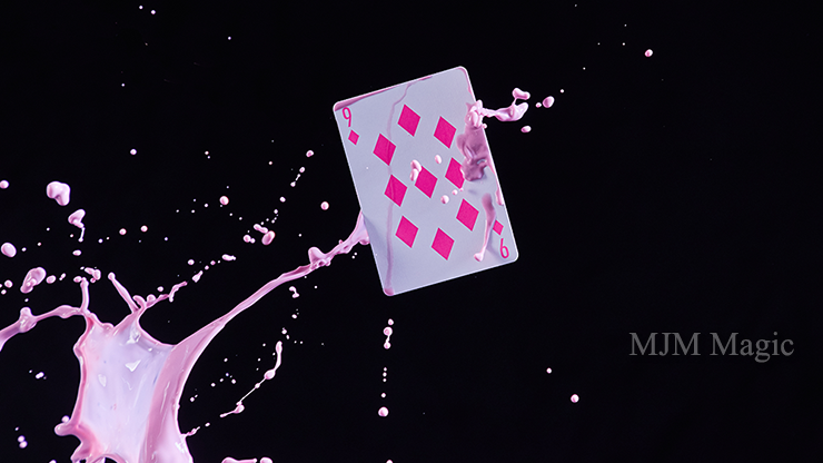 ZONE (Pink) Playing Cards by Bocopo - Click Image to Close