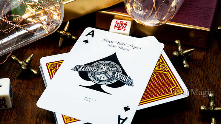 No.13 Table Players Vol. 1 Playing Cards by Kings Wild Project - Click Image to Close
