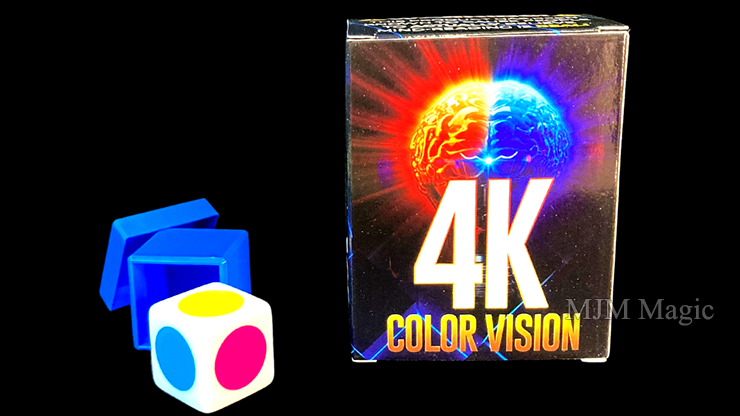 4K Color Vision Box (Gimmicks and Online Instructions) by Magic Firm - Trick