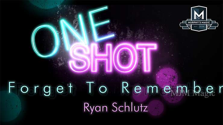 MMS ONE SHOT - Forget to Remember by Ryan Schlutz video DOWNLOAD