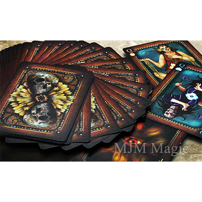 Bicycle Day of The Dead by Collectable Playing Cards - Trick - Click Image to Close
