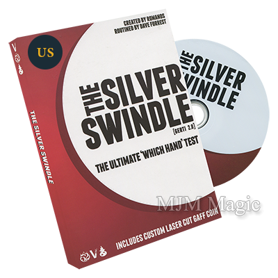 Silver Swindle (US Quarter) by Dave Forrest and Vanishing Inc. - DVD