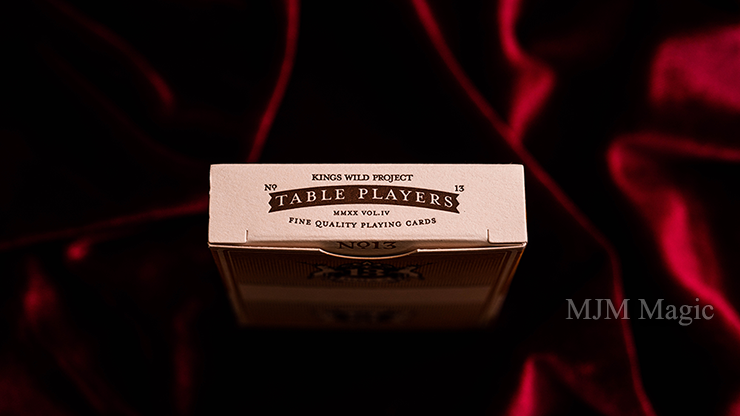 No.13 Table Players Vol. 4 (Cavett) Playing Cards by Kings Wild Project - Click Image to Close
