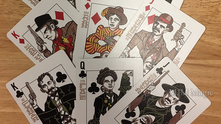 Bicycle Wild West (Outlaw Edition) Playing Cards - Click Image to Close