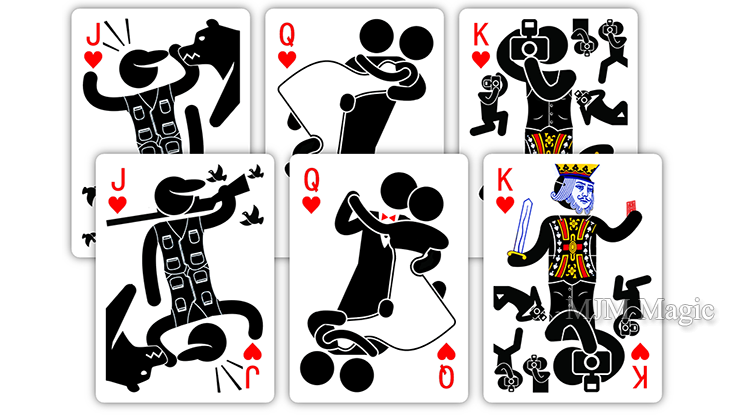 Pipmen: Collector's Edition Playing Cards - Click Image to Close