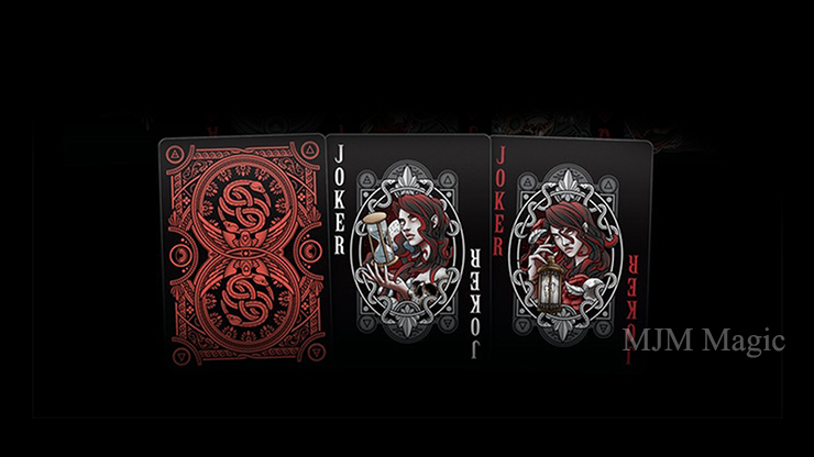 Primordial Greek Mythology Playing Cards (Gilded Chaos Edition) - Click Image to Close