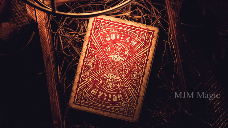 Outlaw Hell Riders Limited Edition Playing Cards by Kings and Crooks - Click Image to Close