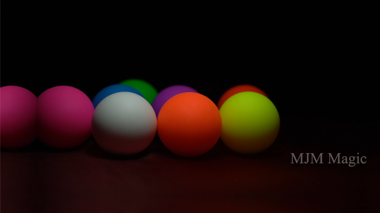 Perfect Manipulation Balls (1.7 Multi color; Red Green Orange Yellow) by Bond Lee - Trick - Click Image to Close