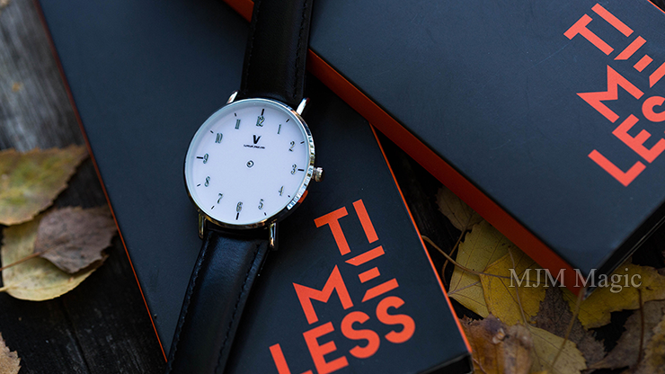 Timeless Deluxe Midnight Black (Gimmicks and Online Instructions) by Liam Montier and Vanishing Inc - Trick - Click Image to Close