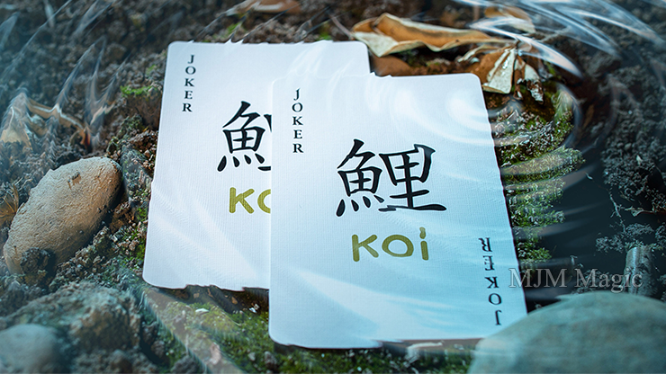 Koi V2 Playing Cards by Byron Lueng - Click Image to Close