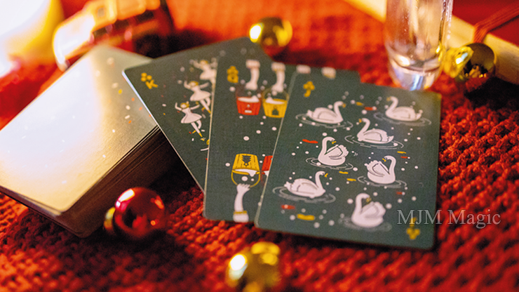 12 Days Of Christmas Playing Cards - Click Image to Close