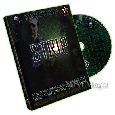 Strip by Jon Thompson (With Stripper Deck) - DVD - Click Image to Close