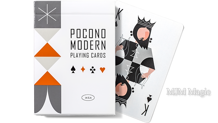 Retro Deck (White) Playing Cards - Click Image to Close