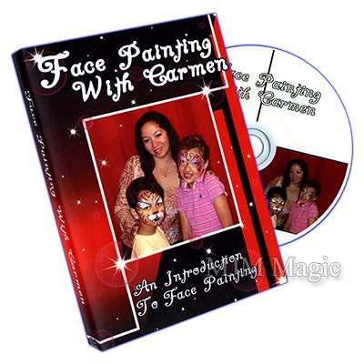 Face Painting With Carmen - DVD - Click Image to Close