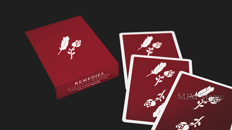 Remedies Playing Cards by Madison x Schneider - Click Image to Close