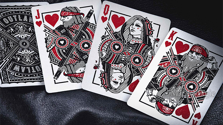 Outlaw Playing Cards by Kings & Crooks - Click Image to Close