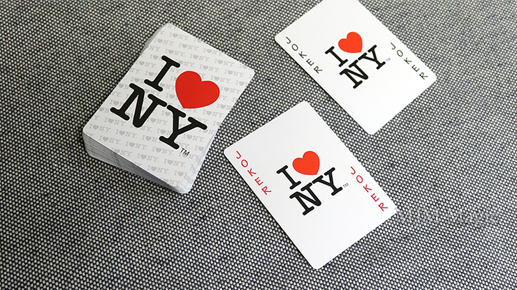 Bicycle I Love NY Playing Cards - Click Image to Close