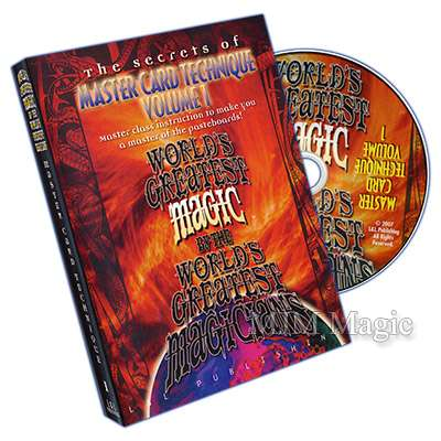 Master Card Technique Volume 1 (World's Greatest Magic) - video DOWNLOAD - Click Image to Close
