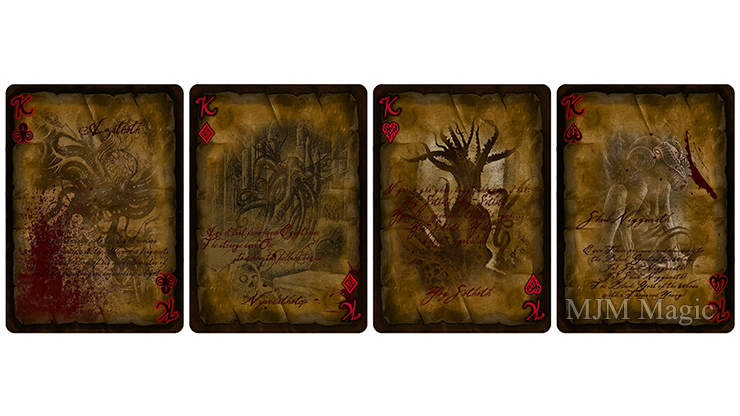 Bicycle Necronomicon Limited Edition Playing Cards - Click Image to Close