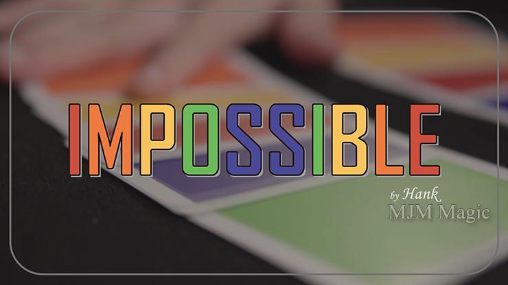 IMPOSSIBLE by Hank & Himitsu Magic - Trick