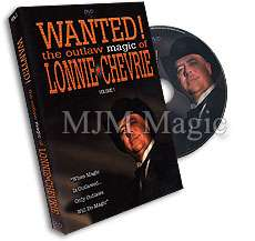 Wanted! the Outlaw Magic of Lonnie Chevrie - DVD - Click Image to Close