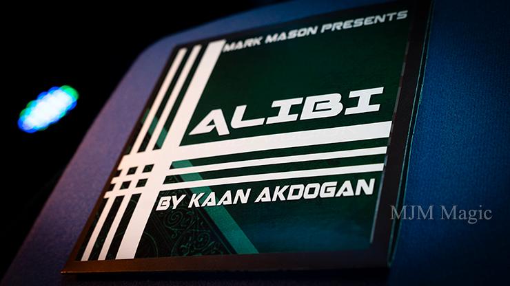 Alibi (Gimmicks and Online Instructions) by Kaan Akdogan and Mark Mason - Trick