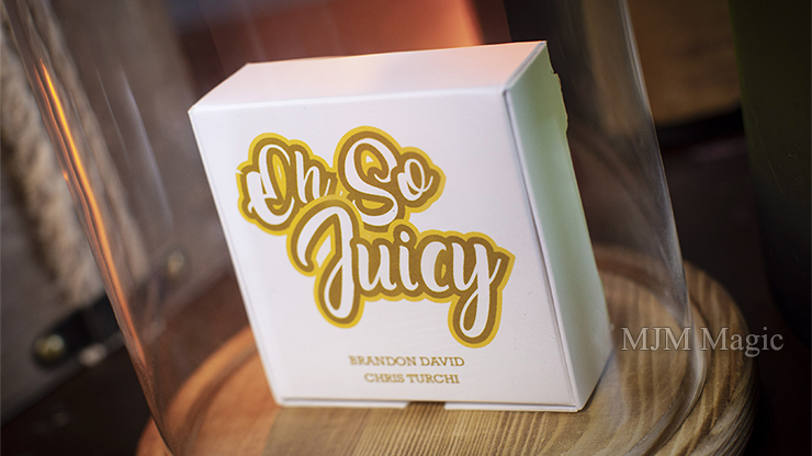 Oh So Juicy (Gimmick and Online Instructions) by Brandon David and Chris Turchi - Trick