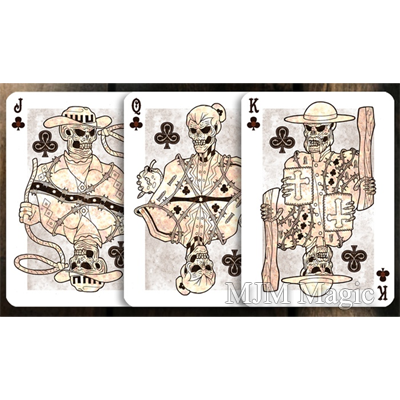 Plugged Nickel Playing Cards (Rusted Tin) by Matt Drake - Trick - Click Image to Close