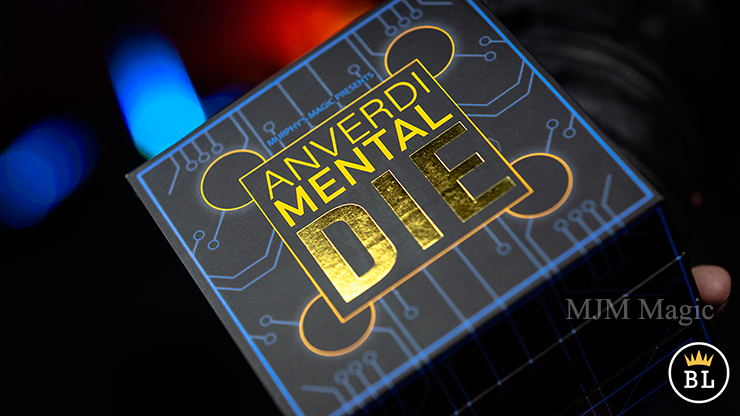 MENTAL DIE WHITE (With Online Instruction) by Tony Anverdi - Trick