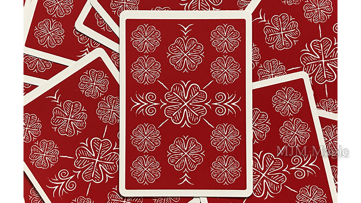 Choice Cloverback (Red) Playing Cards - Click Image to Close