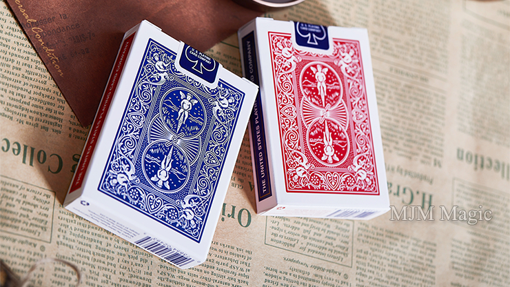 Bicycle Chic Gaff (Blue) Playing Cards by Bocopo - Click Image to Close