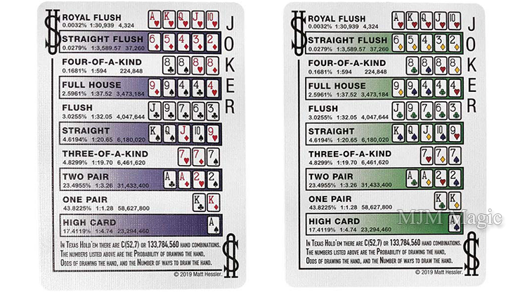 Hesslers Rider Back (Red) Playing Cards - Click Image to Close